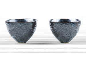 Set Of Two Deep Flared Tea Bowls